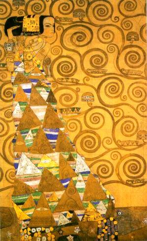 Expectation painting, a Gustav Klimt paintings reproduction, we never sell Expectation poster