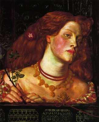 Fair Rosamund painting, a Dante Gabriel Rossetti paintings reproduction, we never sell Fair Rosamund
