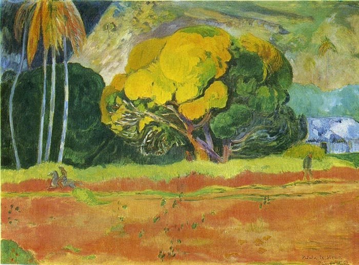 Gauguin Oil Painting Reproductions- The Big Tree