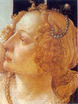Grace painting, a Sandro Botticelli paintings reproduction, we never sell Grace poster