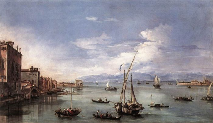 Guardi Reproductions - The Lagoon from the Fondamenta Nuove