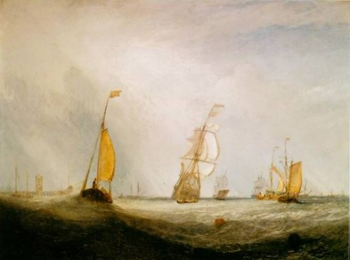 Helvoetsluys painting, a Joseph Mallord William Turner paintings reproduction, we never sell