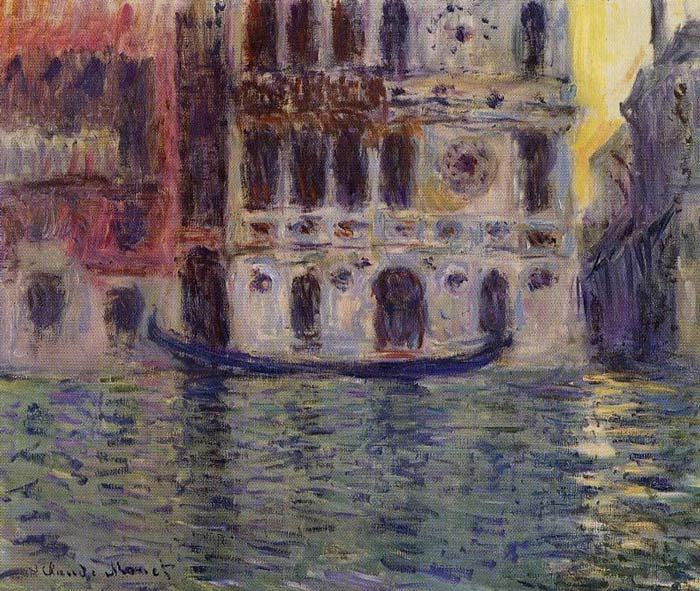 Monet Oil Painting Reproductions - Palazzo Dario