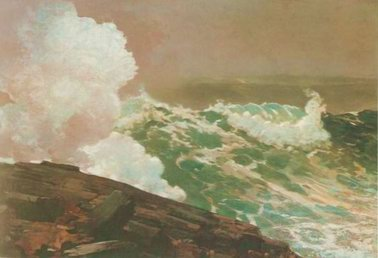Northeaster 1895 painting, a Winslow Homer paintings reproduction