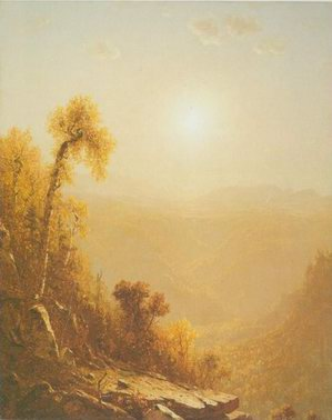 October in the Catskills painting, a Sanford Gifford paintings reproduction, we never sell October