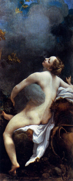 Oil Painting Reproduction of Correggio- Jupiter and Io