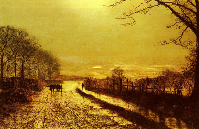 Oil Painting Reproduction of Grimshaw- Wharfedale