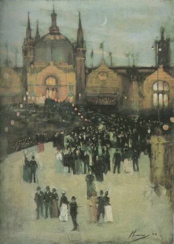 Paddington Station painting, a Sidney Starr paintings reproduction, we never sell Paddington Station