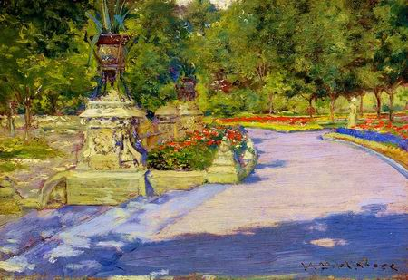 Prospect Park painting, a William Merritt Chase paintings reproduction, we never sell Prospect Park