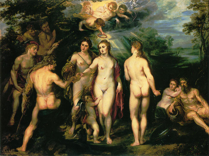 Rubens Oil Painting Reproductions- The Judgement of Paris