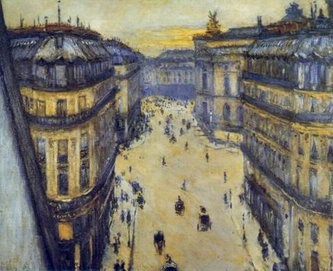 Rue Halevy, Seen from the Sixth Floor painting