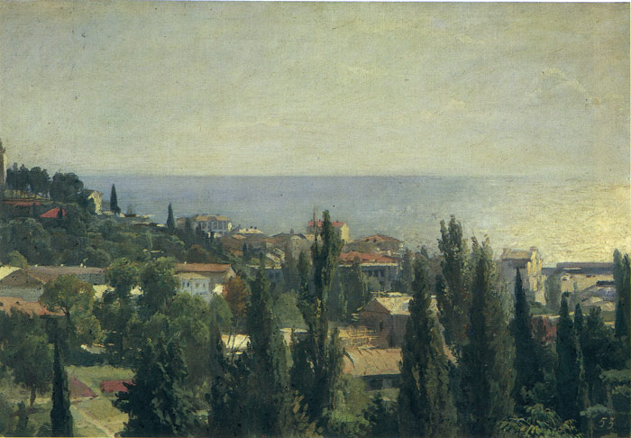Serov Oil Painting Reproductions - Yalta Sea