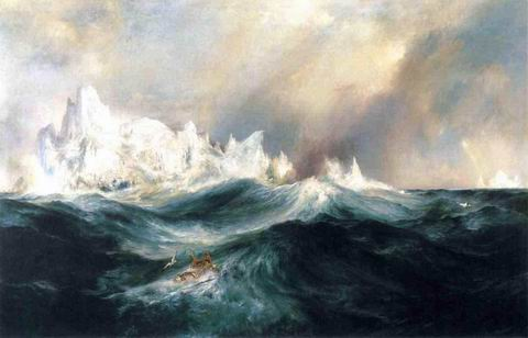Spectres from the North painting, a Thomas Moran paintings reproduction, we never sell Spectres from