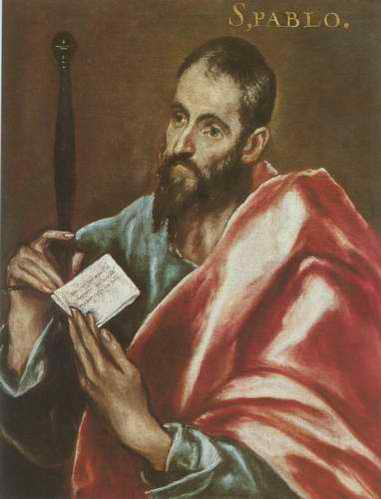 St. Pablo painting, a El Greco paintings reproduction, we never sell St. Pablo poster