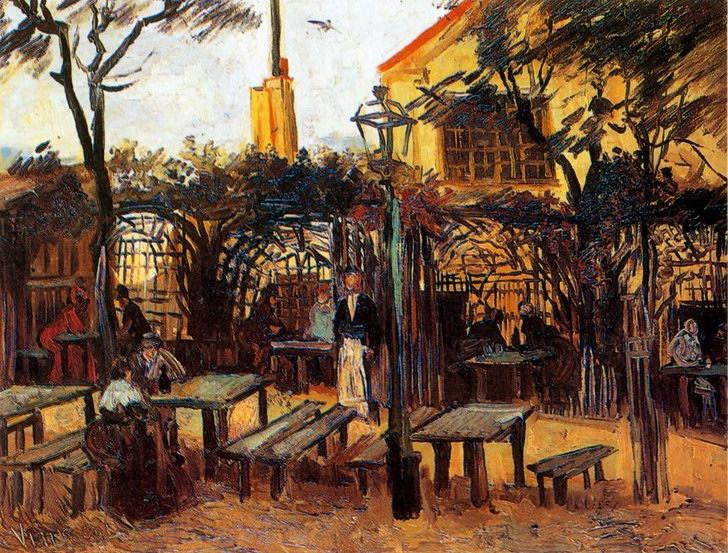 The Mackes Garden at Bonn painting, a Auguste Macke paintings reproduction, we never sell The Mackes