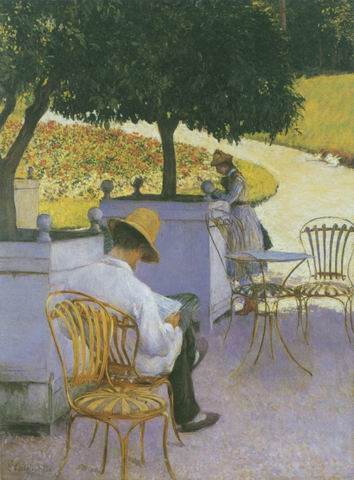 The Orange Trees painting, a Gustave Caillebotte, paintings reproduction, we never sell The Orange