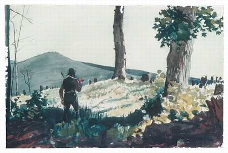 The Pioneer painting, a Winslow homer paintings reproduction, we never sell The Pioneer poster