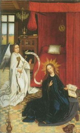 Then Annunciation painting, a Roger Van Der Weyden paintings reproduction, we never sell Then