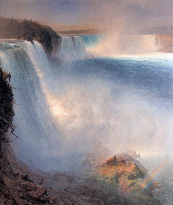 splendid waterfall