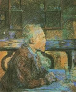 Vincent Van Gogh painting, a Henri de Toulouse Lautrec paintings reproduction, we never sell Vincent