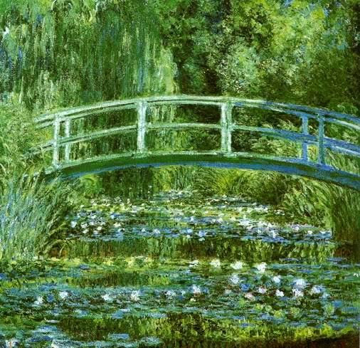 Water Lily Pond,1897-1899 painting, a Claude Monet paintings reproduction, we never sell Water Lily