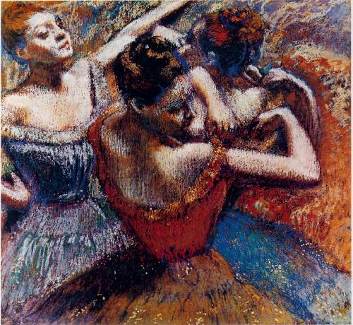 before the debut painting, a Edgar Degas paintings reproduction, we never sell before the debut