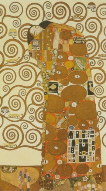 embrace painting, a Gustav Klimt, Austria paintings reproduction, we never sell embrace poster