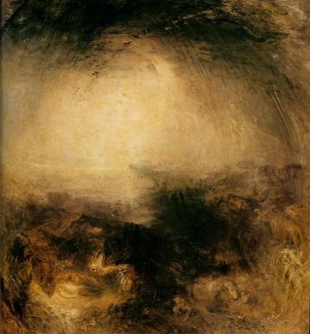 the evening of the deluge painting, a Joseph Mallord William Turner paintings reproduction, we never