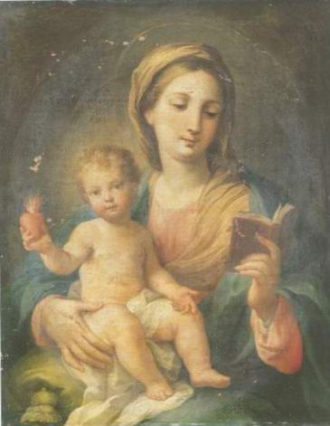 The Madonna and Child painting, a Sebastiano Ceccarini paintings reproduction, we never sell The