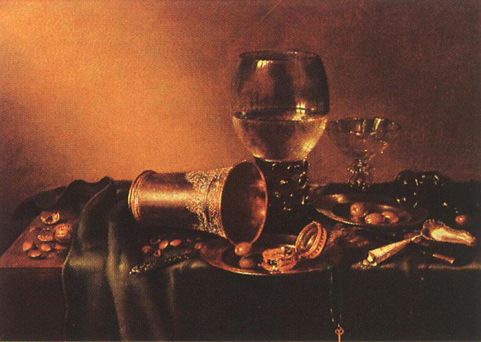 Oil Painting Reproduction of Heda- Still-Life
