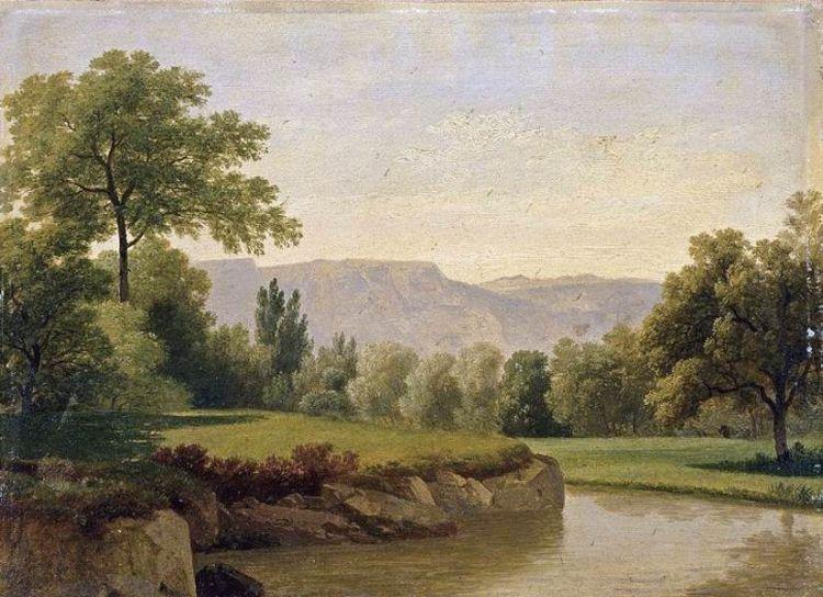 Toepffer Reproductions - River Landscape