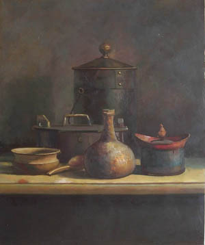 Marvelous Kitchen Table Still Life Paintings Painting,