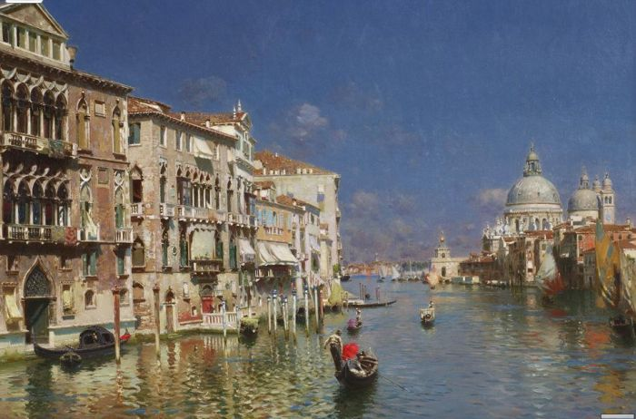Santoro Reproductions - Venice, The Grand Canal