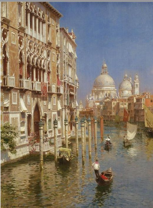 Santoro Reproductions - The Grand Canal, Venice