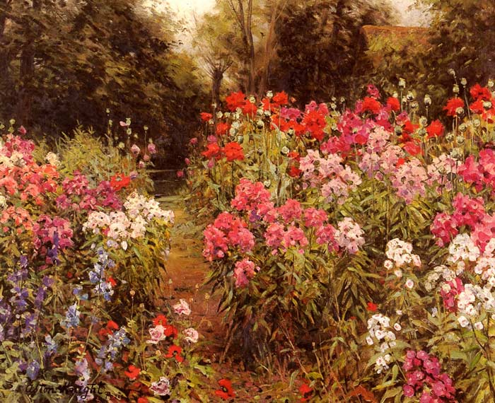 Flower Garden oil painting