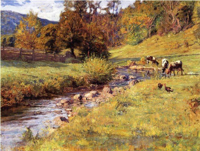 Oil Painting Reproduction of Steele- Tennessee Scene