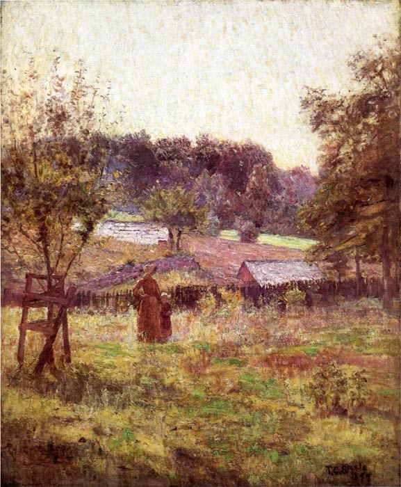 Oil Painting Reproduction of Steele- At Noon Day