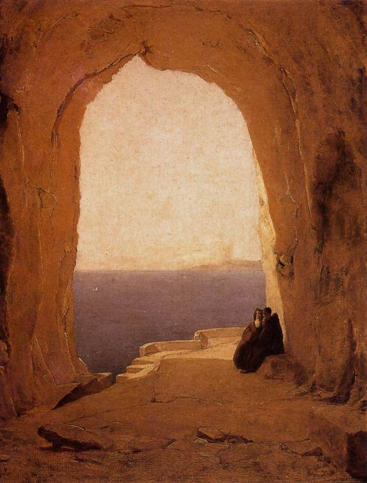 Blechen Reproductions - Grotto in the Gulf of Naples