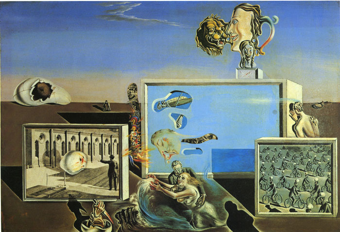 Dali Oil Painting Reproductions - The First Days of Spring