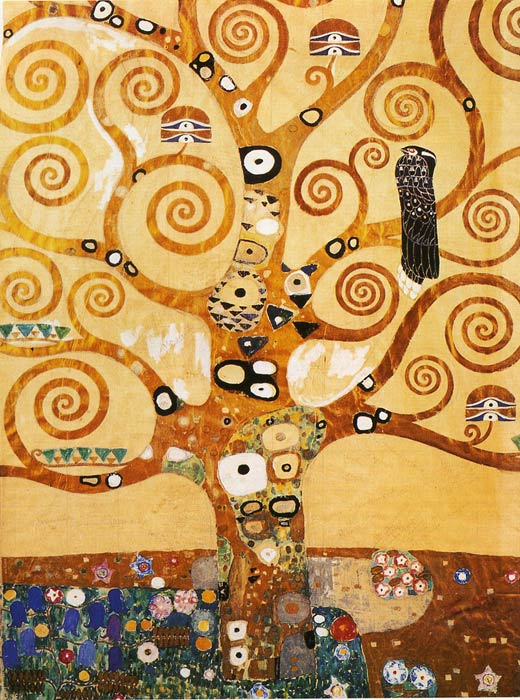 Klimt Oil Painting Reproductions- Tree of Life