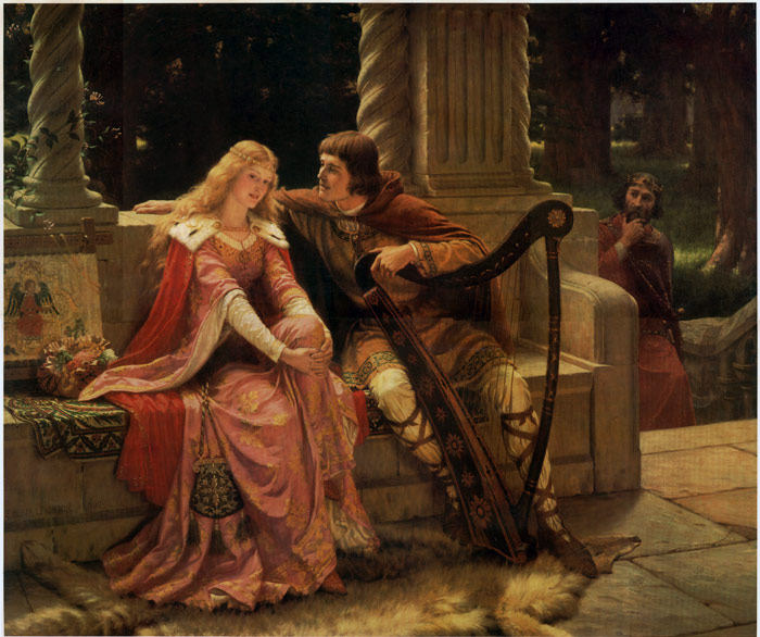 Leighton Oil Painting Reproductions - Tristan and Isolde
