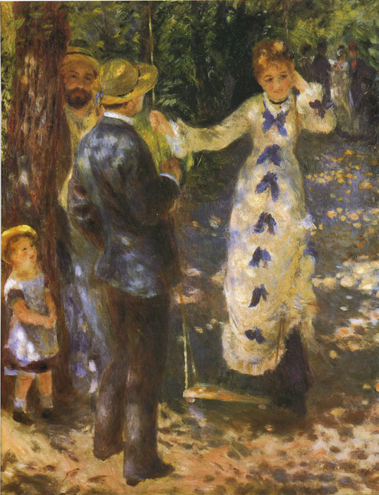 Oil Painting Reproduction of Renoir- The Swing