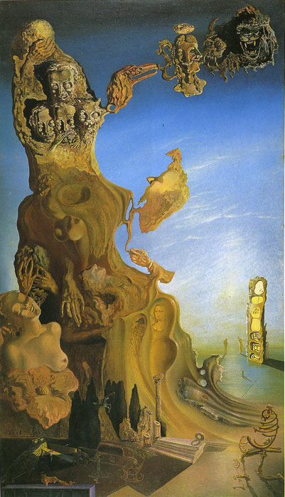 Oil Painting Reproduction of Dali - Imperial Monument to the Child Woman