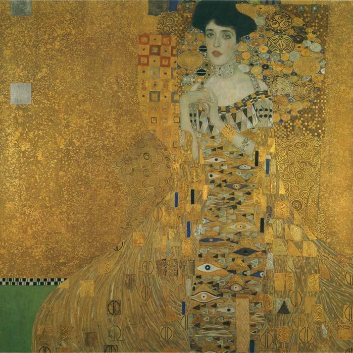 Oil Painting Reproduction of Klimt- Portrait of Adele Bloch-Bauer
