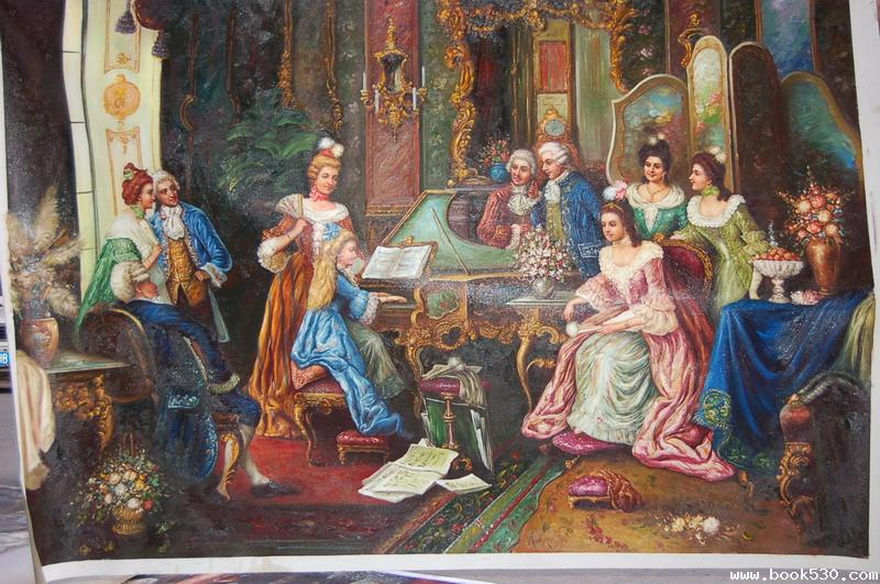 China Oil Painting Wholesale Oil Painting Sell pai palaces oil painting