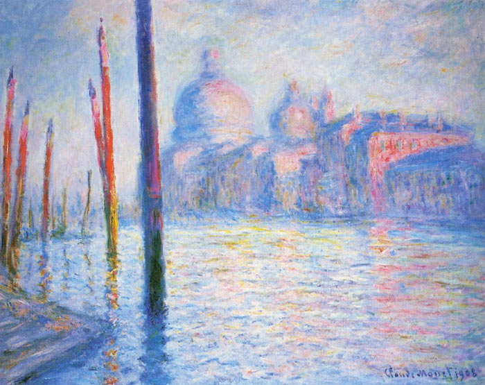 Monet Oil Painting Reproduction - The Grand Canal