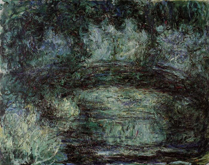 Oil Painting Reproduction of Monet- The Japanese Bridge