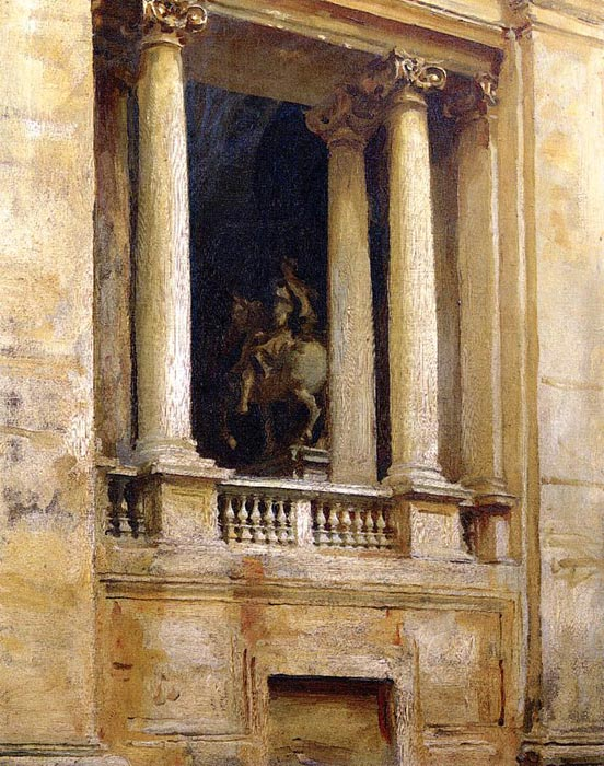 Sargent Oil Painting Reproductions - A Window in the Vatican