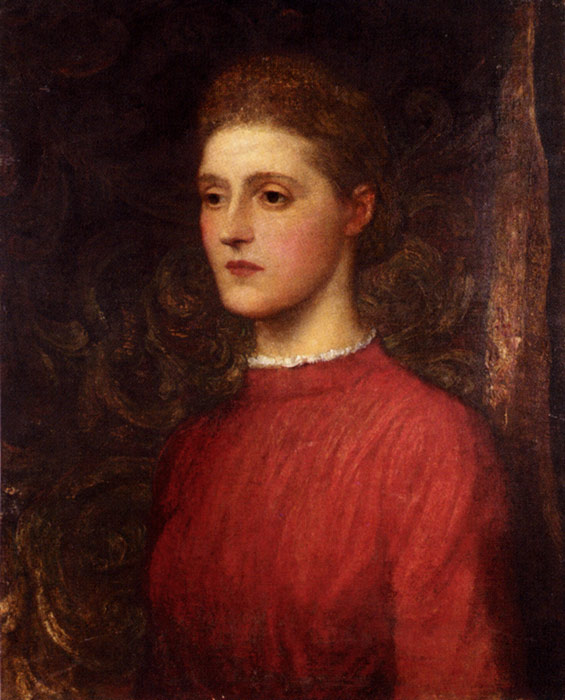 Watts Oil Painting Reproductions- Portrait Of A Lady