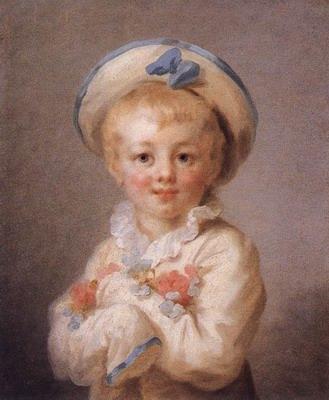 A Boy as Pierrot